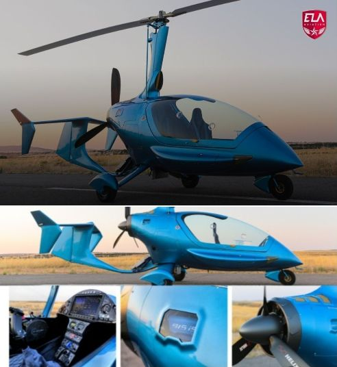 Gyrocopter ELA Evo